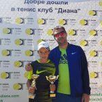 Второ място за Виктор Марков на Държавно първенство до 12 г.