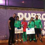 Наш състезател с награда от Горан Иванишевич след отлично представяне на турнир в Хърватия