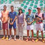 Виктор Марков с титла на двойки от държавното първенство до 16 г.